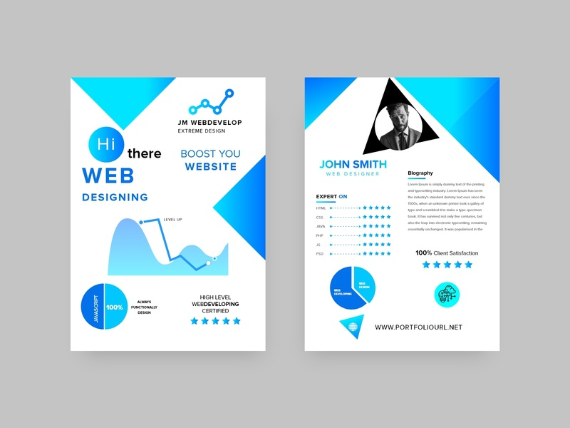 Business Design company business brochure clean proposal business proposal brochure brief brand booklet annual report a4 creative clean blue ui corporate business banner design colorful branding