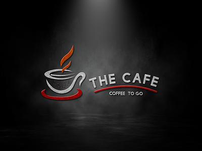 The café social media post design postdesign branding vector design logo illustration logodesigner logodesign graphicsdesign