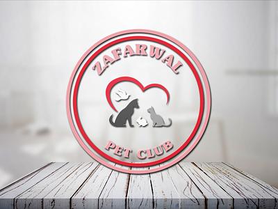 ZafarWal Pet Club graphic design design social media design vector social media post design branding logodesigner logodesign logo graphicsdesign