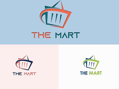 The Mart illustration logodesigner social media design graphic design attractive logo minimalist logo logo design branding logodesign graphicsdesign