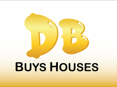 DB Buys Houses logo design real estate logo modern logo minimalist logo attractive logo social media design illustration branding logodesigner logodesign graphicsdesign
