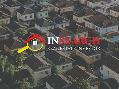 IN search Real estate logodesigner modern logo logo customized real estate real estate logo attractive logo minimalist logo design logodesign branding graphicsdesign