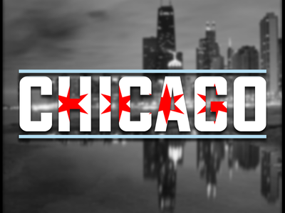 Chicago graphic design art direction adobe photoshop adobe illustrator flag city chicago conceptual mark logo branding brainstorming