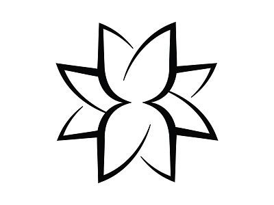 FlowerMark design illustration ui vector conceptual branding art direction adobe illustrator graphic design logo