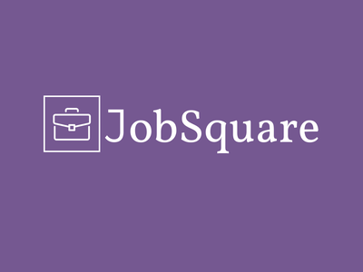 Job Logo ux ui minimal illustrator illustration flat web icon typography logo branding