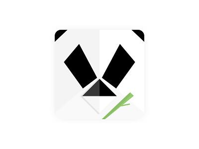 TinyPanda Mac App Icon macos animal vector icon design illustraion panda icon