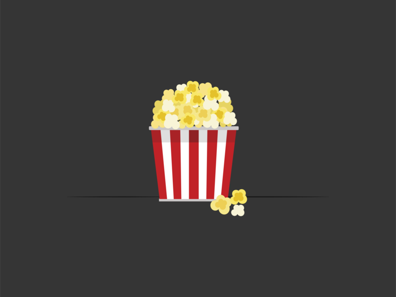 Popcorn cute art popcorn adobe ilustrator vector artwork vector design vector illustration vector logo vector art flatdesign 2d drawing icon artwork artist art illustration adobe vector illustrator design