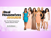 Real Housewives Awards Bravo Site Takeover