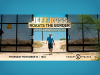 Jeff Ross Roasts the Border LA Mini Billboard
