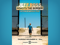 Jeff Ross Roasts the Border NY LED Billboard