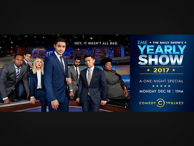 The Daily Show: The Yearly Show LA Billboard
