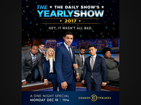The Daily Show: The Yearly Show New York Billboard