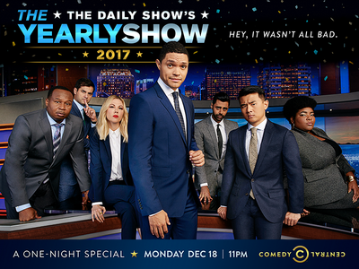 The Daily Show: The Yearly Show New York Subway 2-sheet