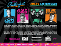 Comedy Central's Clusterfest New York Subway 2-sheet