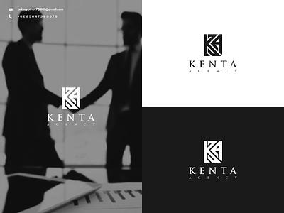 KA Initial Logo typography illustration vector branding design icon ux ui graphic design logo