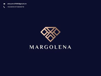M Monogram Logo typography illustration vector icon branding design graphic design ux ui logo