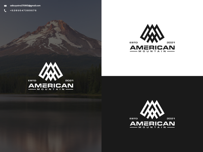 AM Monogram Logo vector typography illustration branding graphic design design icon ux ui logo
