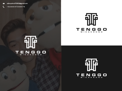 Tenggo Wicaksono Concept Logo vector illustration typography branding graphic design design icon ux ui logo