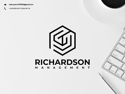 RM Monogram Logo vector typography illustration branding icon design graphic design ux ui logo