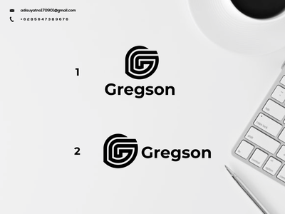 Letter G Logo monogram illustration typography branding icon design graphic design ux ui logo