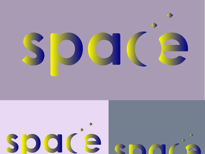 SPARE icon typography vector illustration logo design branding