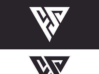MONOGRAM LOGO ui icon typography vector illustration design logo branding