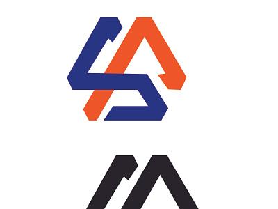 MONOGRAM LOGO icon typography vector illustration design logo branding