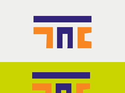 MONOGRAM LOGO icon typography vector logo illustration design branding