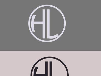 monogram logo typography vector illustration design logo branding