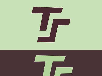TZ icon typography vector illustration design logo branding