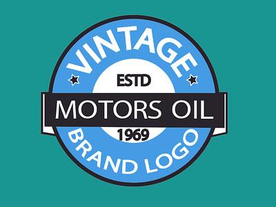 EMBLEM LOGO DESIGN icon typography vector illustration logo design branding