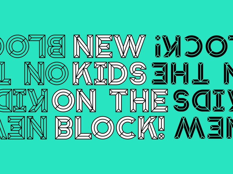 Block - Typeface lettering typeface designer font design font typography typeface fonts