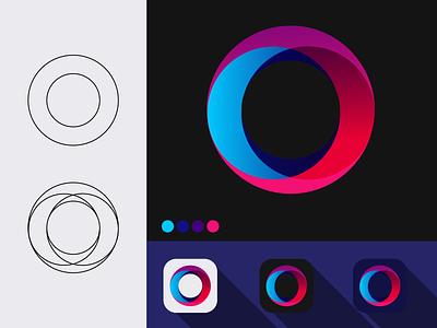O Letter Modern Logo lettermark new create new create logo logo design o letter logo o letter o logo logo