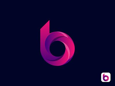 B Letter Logo creative logo modern logo modern lettermark logodesign logo design b letter logo b letter b logo