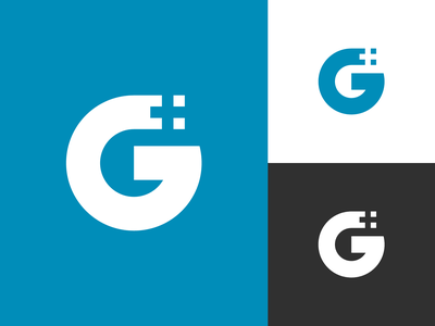 G  Letter Logo eye catching modern logo lettermark negative space negative space logo g letter logo g letter g logo g mark