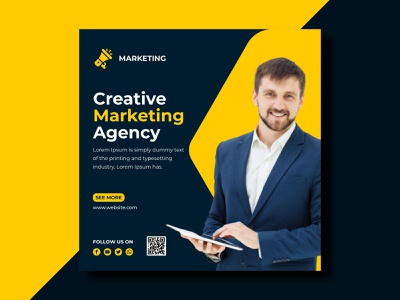 Social Media Post Design ad agency ad banner ad design facebook ad instagram template digital marketing agency digital marketing agency creative facebook post social media facebook ads instagram instagram post banner design banner ads banner