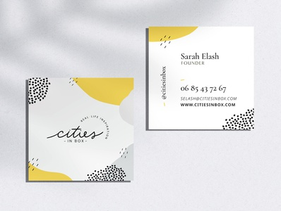 Card Cities in Box brand design brands branding brand citiesinbox cards design cardstock cards ui cards