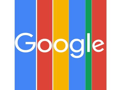 Google - Minimal / Flat Logo Design portrait logo minimal photoshop vector illustration design branding art animation