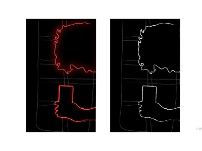 Line art - Illustration branding icon flat photoshop minimal logo vector illustration animation art