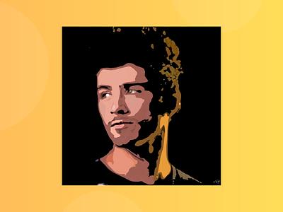 Zayn Malik - Adobe Illustration adobe adobe illustrator draw vector gigi hadid google zayn malik adobe illustrator photoshop design illustration animation art