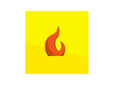 Fire Illustration adobe flat minimal adobe illustrator design illustration vector animation art
