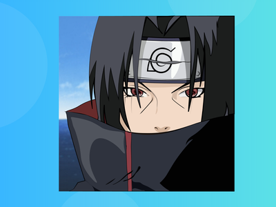 Itachi Uchiha - Narutopedia - FanArt artwork itachi naruto narutopedia adobe illustrator design animation vector illustration artist illustraion illustrator art itachi uchiha