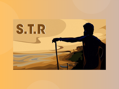 Silambarasan T.R - Fanart krita autodesk sketchbook sketch fanart photoshop adobe illustrator design animation vector illustration art actors actor ajith vijay kollywood silambarasan str