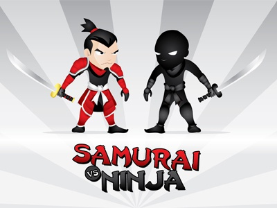 Samurai vs ninja thumb