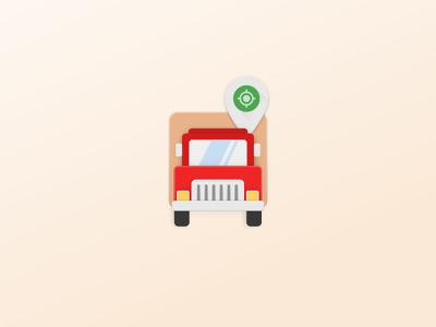 Material Truck graphic illustration icon vector truck material