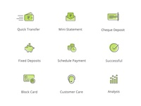 Banking App Icons
