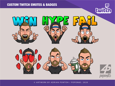 Twitch Emotes coffee lose win hype emoji emotes twitch emotes drawing twitch