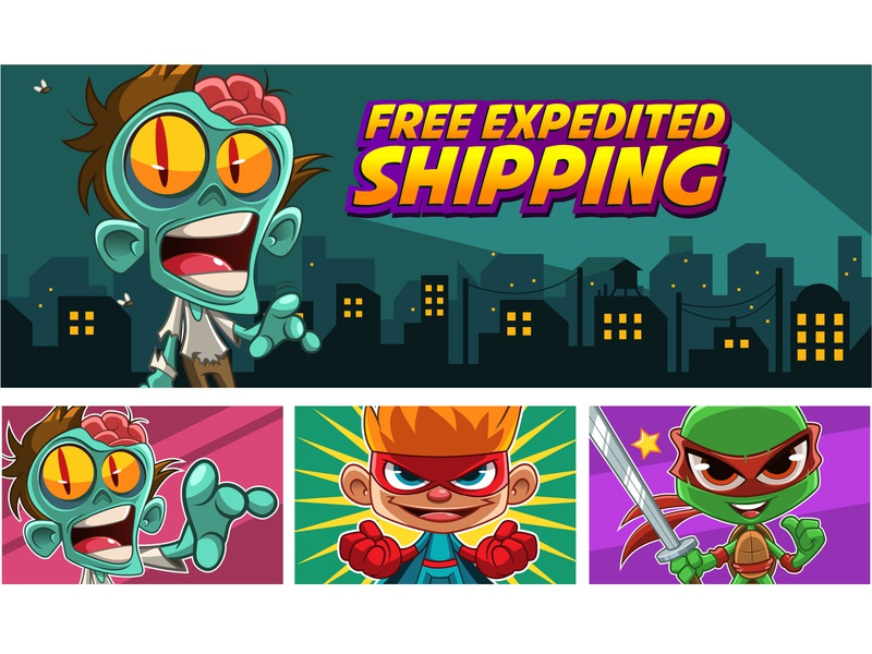 Banner Design banner design banner logo vector mascot design illustration mascot digital art character cartoon character design drawing