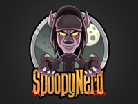 Character design - SpoopyNerd