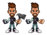 Character design - SixDread
